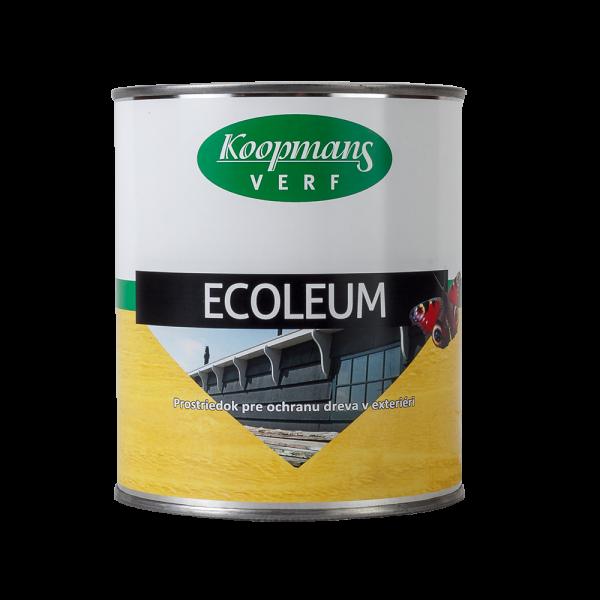 Impregnačný olej na drevo ECOLEUM - FARBYX.sk